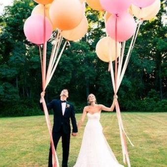 Сватбени парти балони