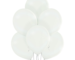 bunch of balloons with white color round shape belbal brand