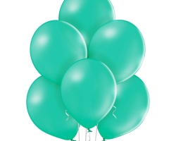 Group of forest green ballon wihtout print