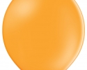 single orange balloon - belbal balloon
