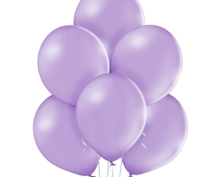 bunch lavender balloons