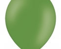 single dark green balloon
