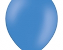single standart blue balloon