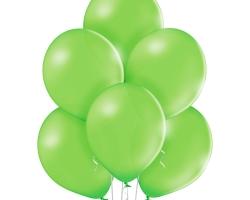 Група тревисто зелени балони