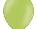 single green balloon with shade of green
