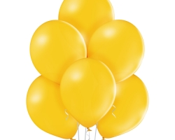 group of party balloons with colro ocher