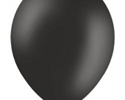 Пастелен черен балон - стандартен размер