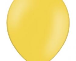 Пастелен тъмно жълт балон - стандартен размер