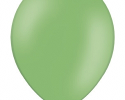 Пастелен зелен балон - стандартен размер