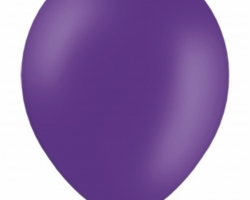 Пастелен роял лилав балон - стандартен размер
