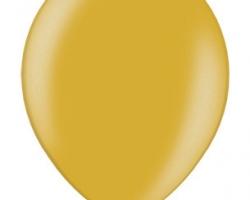 Металиков златен балон - стандартен размер