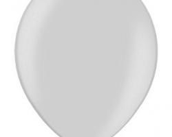 Металиков сребърен балон - стандартен размер