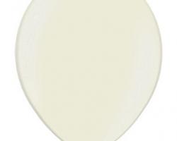 Металиков балон слонова кост - стандартен размер