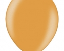 orange metallic balloon - highquality balloons belbal brand
