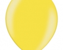 Metallic yellow balloon - belbal brand