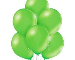 083 green metallic balloons highquality belbal brand