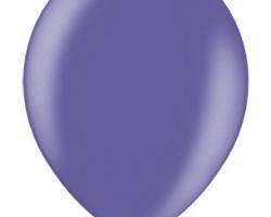 Металиков виолет син балон - стандартен размер