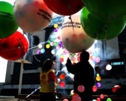 Печат въхру джъмбо балони (Големи балони с фирмено лого)
