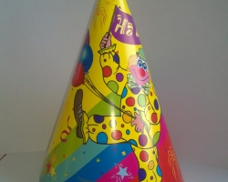 Party cone hat on party