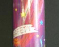 Парти конфета със сгъстен въздух 20 см