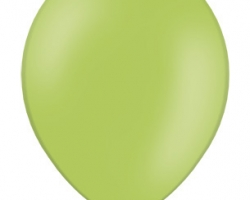 Balloon promo Lime green balloons size B95 pack of 100 pc