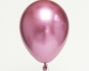 single chrome balloon with pink color