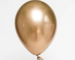 Balloon with chrome gold color pack of 10 paty balloons