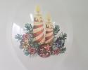 """chrystal balloon with fullcolro printing """"Christmas mood"""""""