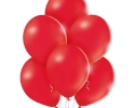 pack of 50 red pastel balloons for decoration and party