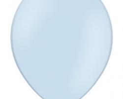 Пастелен бебешко син  балон - стандартен размер B85 003 - Опаковка от 50 бр