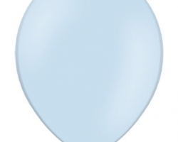 Pastel Baby Blue Balloon - Standard Size B85 003 - 50 pcs