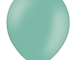 Пастелен горско зелен балон - стандартен размер B85 00 - Опаковка от 50 бр