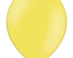 Pastel yellow balloon - standard size B85 006 - 50 pcs