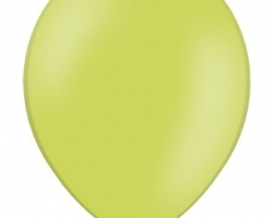 Pastel Apple Green Balloon - Standard Size B85 008 - 50 pcs