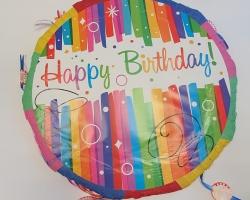 "Пинята ""Happy Birthday"" 45 сантиметра Модел 6"