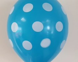 Party Polka Dots Balloons Print New Colors! Pack of 50 pieces